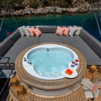 private mini cruises mini pool on deck antalya